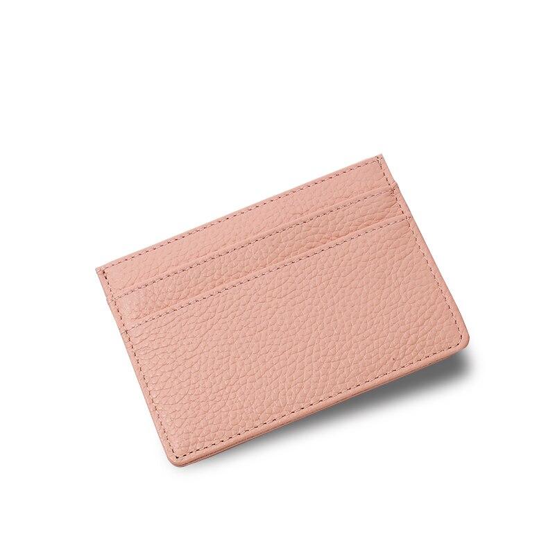 SIKU kadın hakiki deri kart sahibinin moda bayan kartı kimlik - Cüzdanlar - Fotoğraf 3