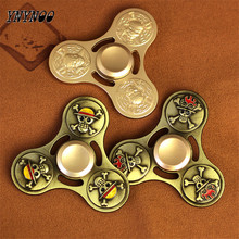YNYNOO One Piece Fidget Spinner Finger Spinner Hand Spinner Hands Alloy Metal For Autism Adult Anti Relieve Stress Toy Spiner