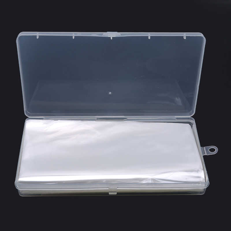 100 Pcs Paper Money Banknotes With Storage Box Transparent PVC Page Of Paper Money Coin Album Coin Money Holders