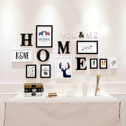 Hot Style A4 A1 A2 A5 Multi-size Room Decor Wooden Picture Photo Wall Frame Single Picture Desk Wall Frame