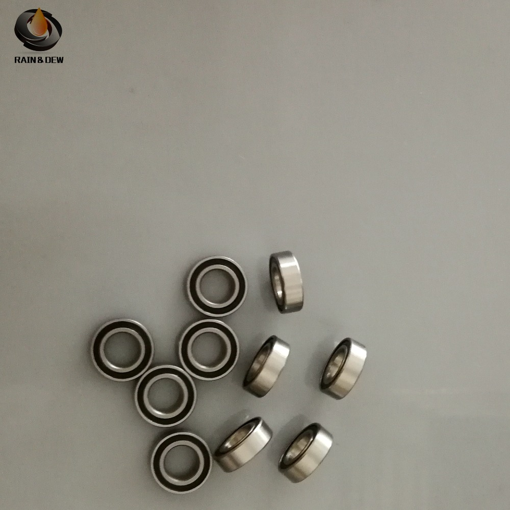 <font><b>688</b></font>-<font><b>2RS</b></font> <font><b>Bearing</b></font> ABEC-7 10PCS 8x16x5 mm Miniature 688RS Ball <font><b>Bearings</b></font> 618/8RS image
