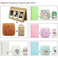 Similar Color Mini Film Album Camera Case 3 in 1 For Fujifilm Instax Mini 9 8 Film Pink Blue LifeColor Gudetama Album Protector