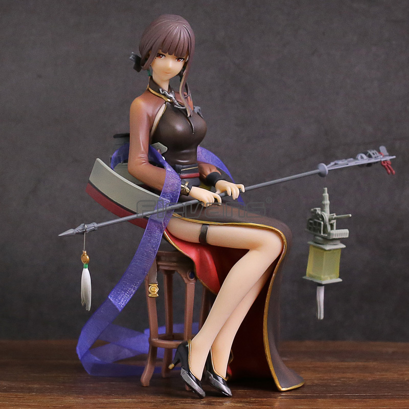 Warship Girls R Light Cruiser Yat Sen PVC Figure Collectible Model Toy