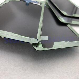 Image 3 - 100% oryginalny Samsung Galaxy S10 tylna pokrywa baterii 3D obudowa szklana pokrywa tylna sprawa S10 G973 S10 + drzwi tylna obudowa obiektyw aparatu