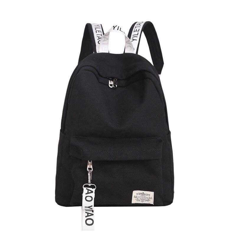 vívido y de gran estilo vendible venta más caliente € 43.36  Mochilas de lona negras modernas para hombres y mujeres, Mochilas  impermeables de marca famosa para adolescentes y niñas, bolsas de viaje ...