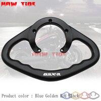 SMOK Motorcycle Passenger Handgrips Hand Grip Tank Grab Bar Handles Armrest For SUZUKI GSX 250R GSX R600 GSX R750 GSX R1000