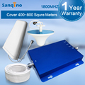 Sanqino Signal Booster GSM 1800 MHz Repetidor Do Telefone Móvel Mini 4G LTE 1800 MHz Amplificador Booster de Sinal de Telefones Celulares Kit completo S20