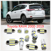 11 set White LED Lights Interior Package T10 & 31mm Map Dome