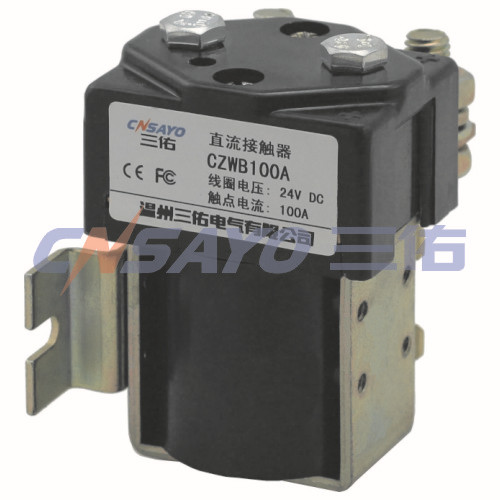 CZWB100A dc contactor sayoon dc 12v contactor czwt150a contactor with switching phase small volume large load capacity long service life