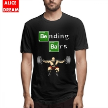 Bending Bars Walter White Gym Breaking Bad T Shirt For Male Retro T-Shirt Crewneck S-6XL Big Size Homme T-shirt