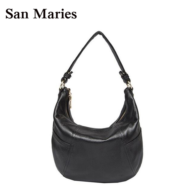 Fashion Hotsale Promotion Small Handbag Women Shoulder Bags Tassel Ladies  Messenger Genuine Leather Hobo Tote Bag 39971ecfe0