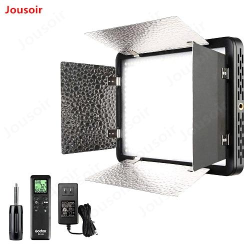 Godox LED500LRC 3300-5600 k 500 LED Vidéo Lampe + À Distance pour DV Caméscope Caméra + 2x NP970 batterie + Chargeur CD50