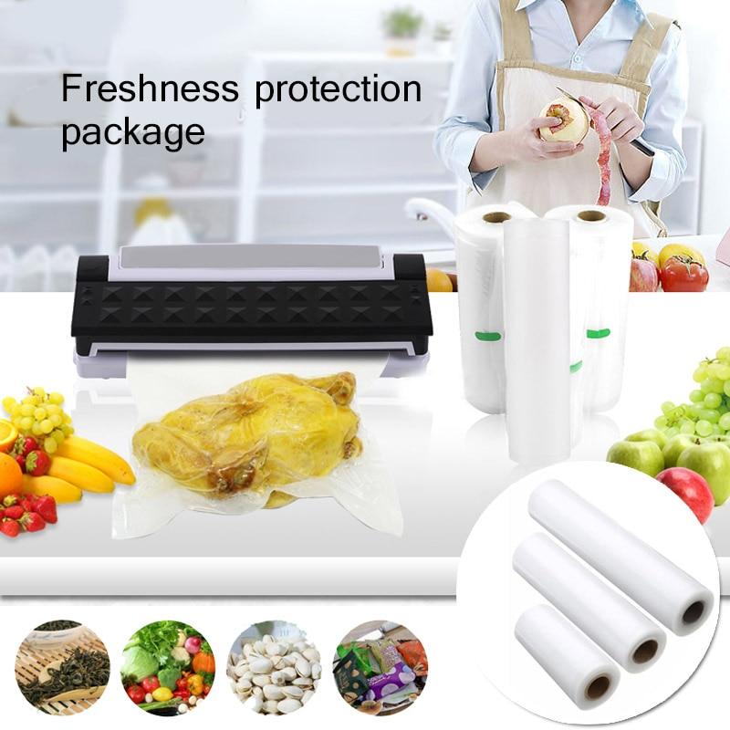 Rolls Vacuum Heat Sealer Τρόφιμα Εξοικονόμησης Τροφίμων Φρούτα Λαχανικών Saran Τυποποίηση Τροφίμων Κρατώντας Φρέσκα Τσάντα Συσκευασίας Τυποποίηση Flim Κουζίνα Εργαλείο