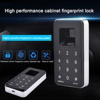 Newly Fingerprint Lock Digital Cabinet Drawer Wardrobe Hutch Locker Electronic Keyless Lock