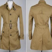 Бизнес дизайнерский тонкий сексуальный Тренч мужское однобортное пальто с длинным рукавом мужская одежда деловая верхняя одежда 9XL