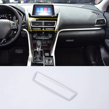 Car Accessories Interior Decoration ABS Front Middle Air Vent Outlet Cover For Mitsubishi Eclipse Cross 2018 Car-styling цены