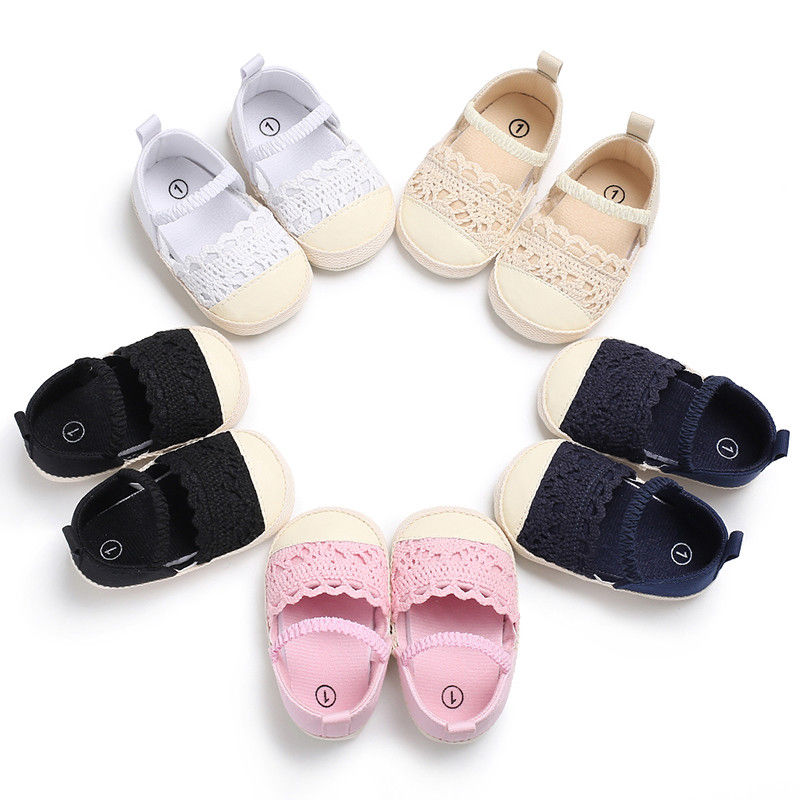 Mother & Kids 2018 Baby Kid Girl Summer Soft Sole Flower Toddler Beach Sneakers Shoes 0-18m