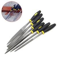 6Pcs 180mm Mini Metal Filing Rasp Needle File Wood Tools Hand Woodworking