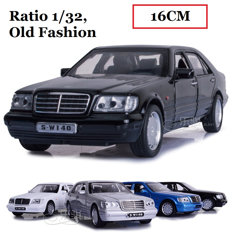 Mercedes Benz Classic Cars For Sale South Africa: Mercedes Benz S W140 Diecast Model Toy Car Sound Light P
