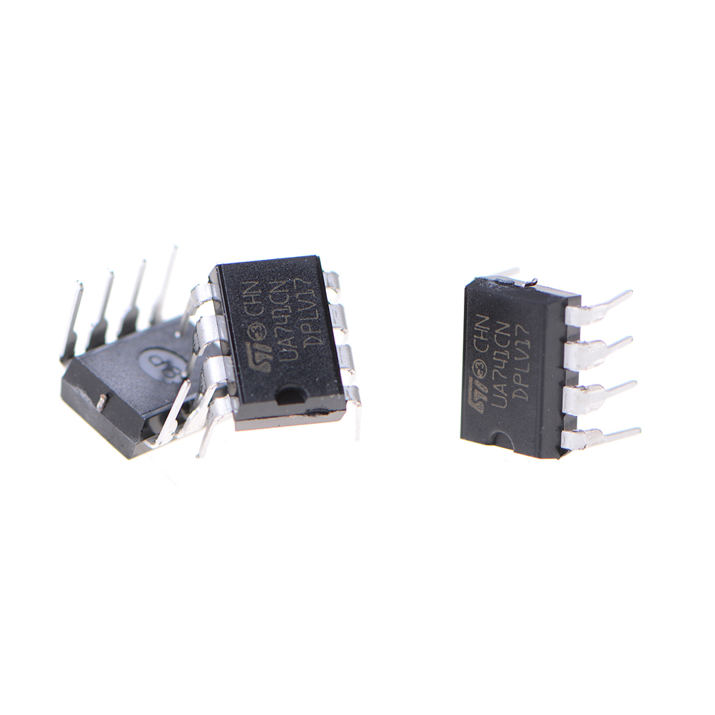 Hot Sale 10pcs Lot Ua741cn Lm741 741 Operational Amplifier Op Amp Negative To Positive Voltage Supply With Dip 8 Ic