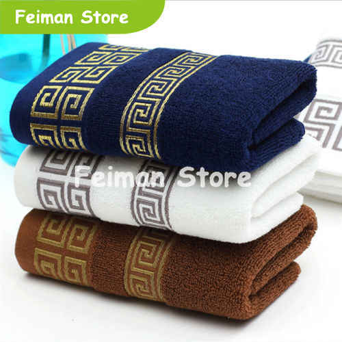 Soft Cotton Bath Towels Beach Towel For Adults Absorbent Terry Luxury Hand Face Sheet Adult Men Women Basic Towels