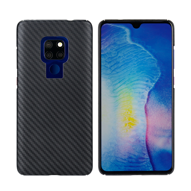 Mcase Plain Case For Mate 20 Back Cover Luxury Ultra-Thin Aramid Fiber Case For Huawei Mate 20 Case - Matte with Free Shipping