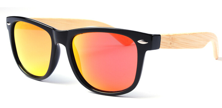 Bamboo Sunglasses Wooden Wood Mens Womens Retro Vintage Summer Glasses new arrival