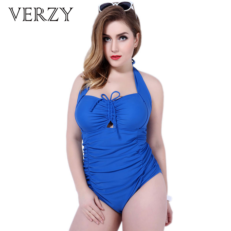 2017 Summer women apparel Large size blue swimwear female costume backless beach monokini Adjustable Bust One Piece Swimsuits extra large size or more beach tropical swimsuits one pieces swimwear women 2017 monokini brand