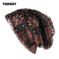 TQMSMY Multicolor Primavera Turbante Chapéus para Mulheres Gorros Meninas  máscara Mascarado Cap Gorro de diamantes Rendas 19d8889260a