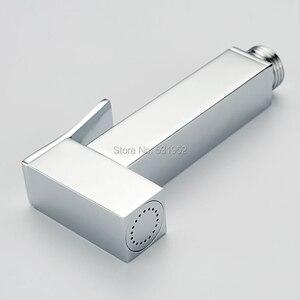 Image 3 - High Quality Wall mouted Toilet Brass Bidet Spray Shattaf Shower Kit Sprayer Jet with Shut off Valve