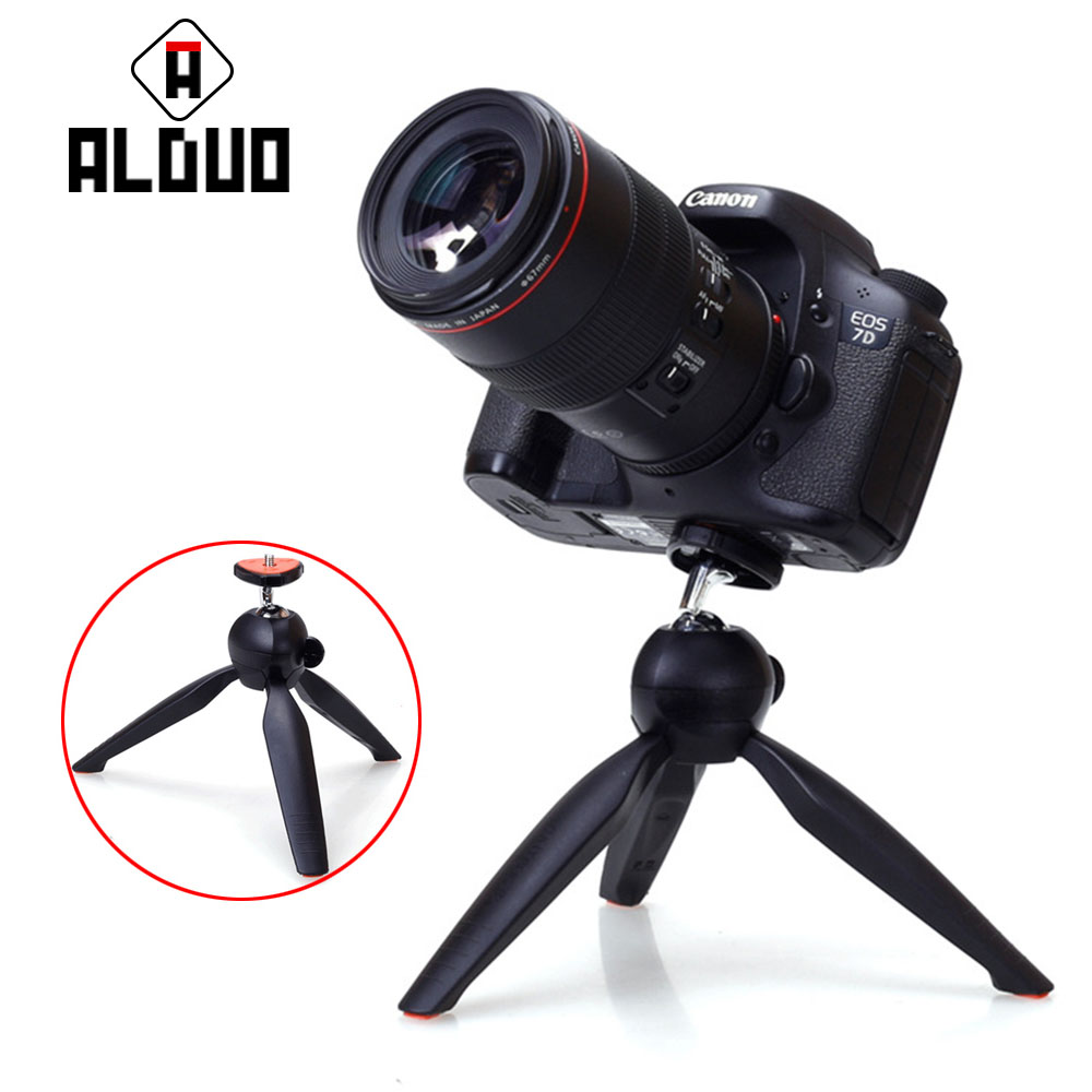 ALANGDUO Steady Self-Tripod Clip <font><b>Holder</b></font> Gopro Adapter Camera Photo Tripod For <font><b>iPhone</b></font> 5C 6S 7 PLUS For Meizu NOTE Smart Phones