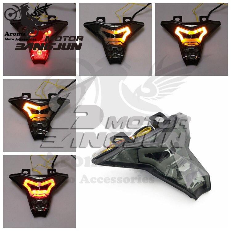 blinker moto rear indicator flashers z1000 brake light motorbike for Kawasaki Z1000 2014 2015 2016 LED motorcycle tail light