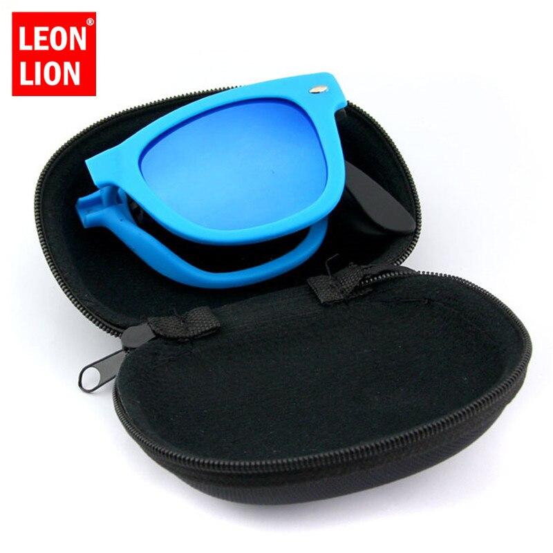 LeonLion pli petit cadre lunettes De Soleil femmes Vintage classique lunettes De Soleil Shopping voyage UV400 Lunette De Soleil Femme