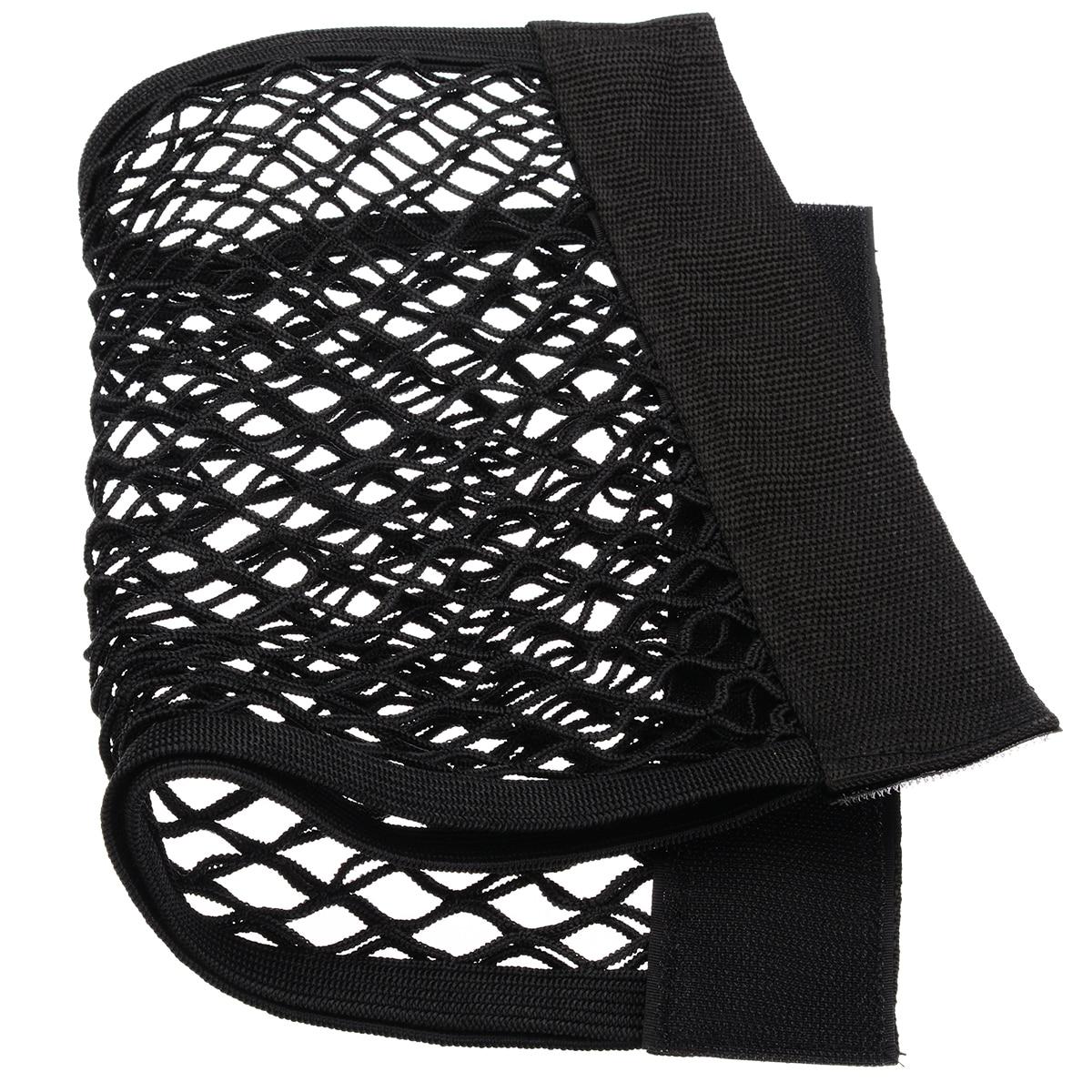 1 pc 40*25CM Car Styling Car Back Rear Trunk Seat Elastic String Net Mesh Storage Bag Pocket Cage Car Interior Nets