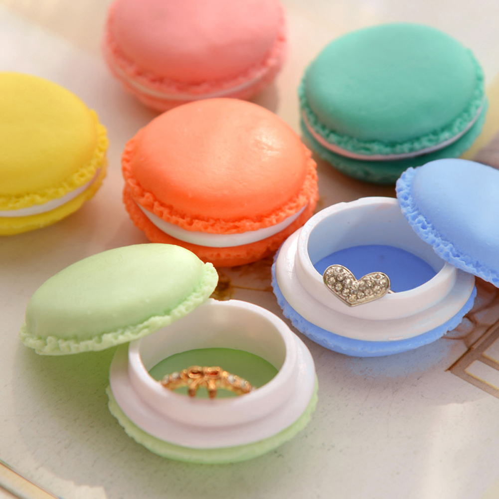 WITUSE Free Shipping!18PCS Mini Earphone SD Card Macarons Bag Storage Box Case Carrying Pouch Small Pills Jewelry Box Organizing
