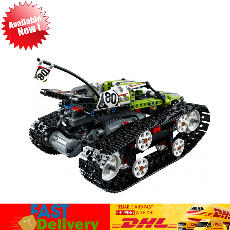 Lepin 20033 452Pcs Technic RC Tracked Racer Radio Controlled Model Building Blocks Bricks Toys Compatible LegoINGlys 42065