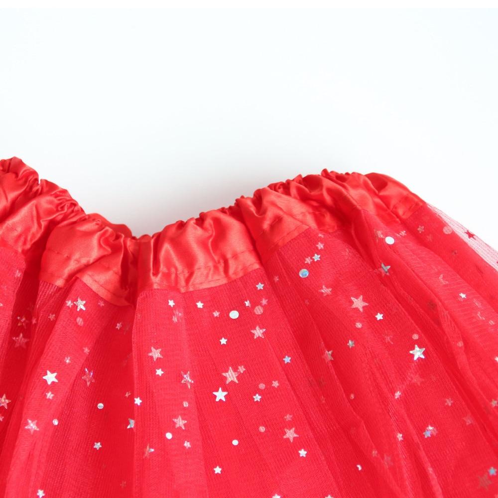 AZULARILLOJO Kids Baby Star Glitter Dance Tutu svārki meitenei 3 - Bērnu apģērbi - Foto 3