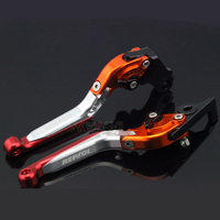 For HONDA CBR250R 2011 2013 CBR300R 2014 CB300F 2015 Motorcycle Adjustable Folding Extendable Brake Clutch Levers