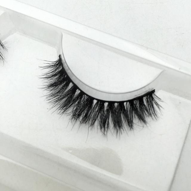 Em estoque 1 par luxy cabelo cavalo cílios de alta qualidade cavalo de cílios faixa lashes