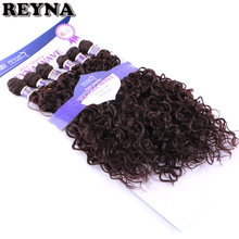 Synthetic-Hair-Extensions Hair-Bundles Weave for Women Water-Wave High-Temperature-Fiber