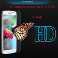 for samsung galaxy note 2 N7100 0.26 mm  9H Hard  2.5D  HD Tempered Glass anti scrach Screen Protector Protective Film