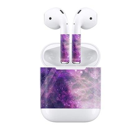 1 Satz Neue Ankunft Beschützer Haut Aufkleber Für Apple Airpods Wrap Film Haut Aufkleber Für Air Schoten Drahtlose Kopfhörer Auf Der Ganzen Welt Verteilt Werden