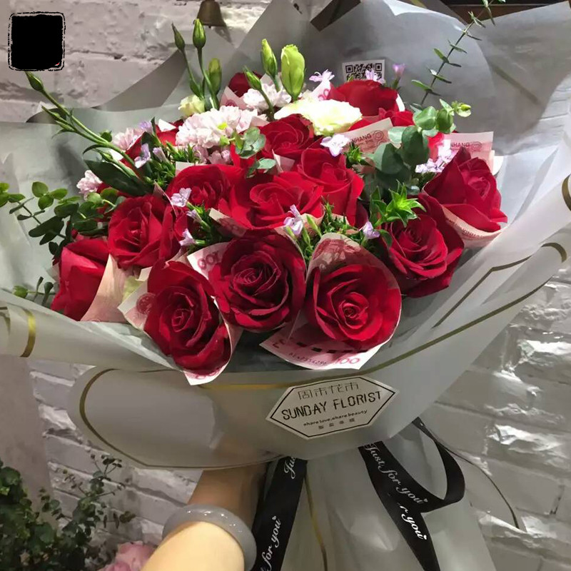 Fastest Shipping Gift Wrapping Paper Flower Bouquet In Hairs Style 2019