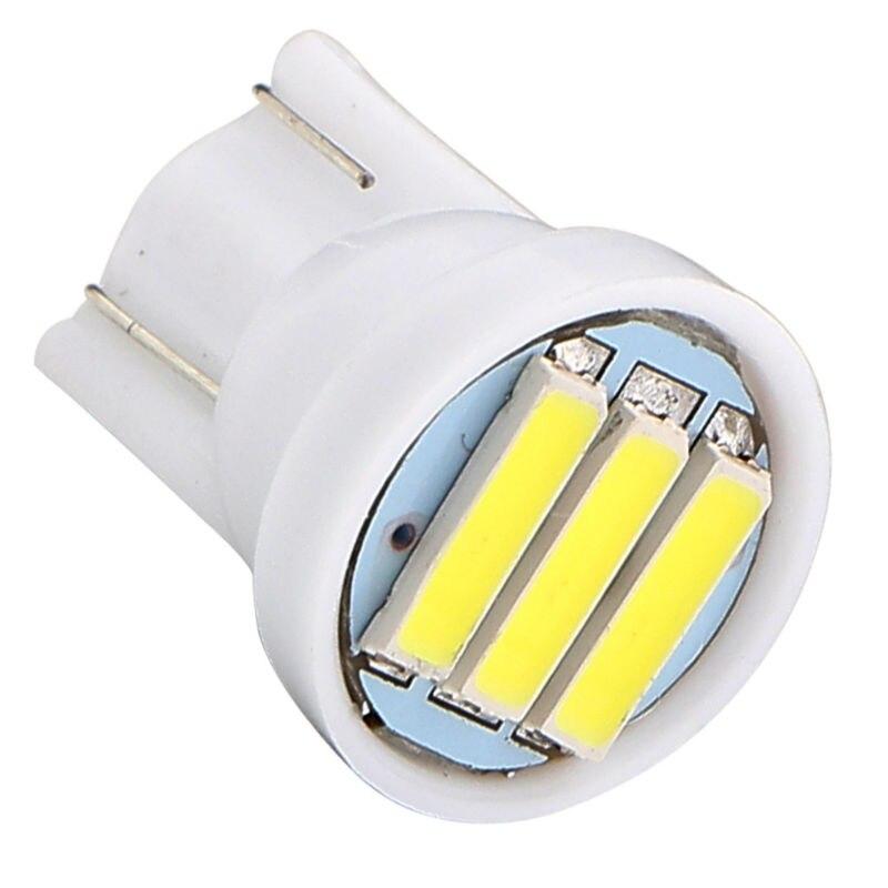 Wholesale 500PCS lot T10 7014 3SMD 194 927 161 168 W5W 3 Led Auto Instrument Lights