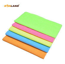 5pcs 30cmx30cm Multi-purpose Microfiber Strips Dishcloths Kitchen Dish Cloth Cleaning Cloths