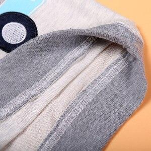 Image 5 - 春秋の男の赤ちゃん服セットファッション子供漫画の車のパターン Tシャツ + ジーンズ 2 ピース/セット子供服 2 3 4 5 6 年
