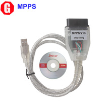 Free shipping ! High quality SMPS MPPS V13.02 Chip Tuning Auto ECU Chip Tuning Tool Remap Chiptuning CAN Flasher