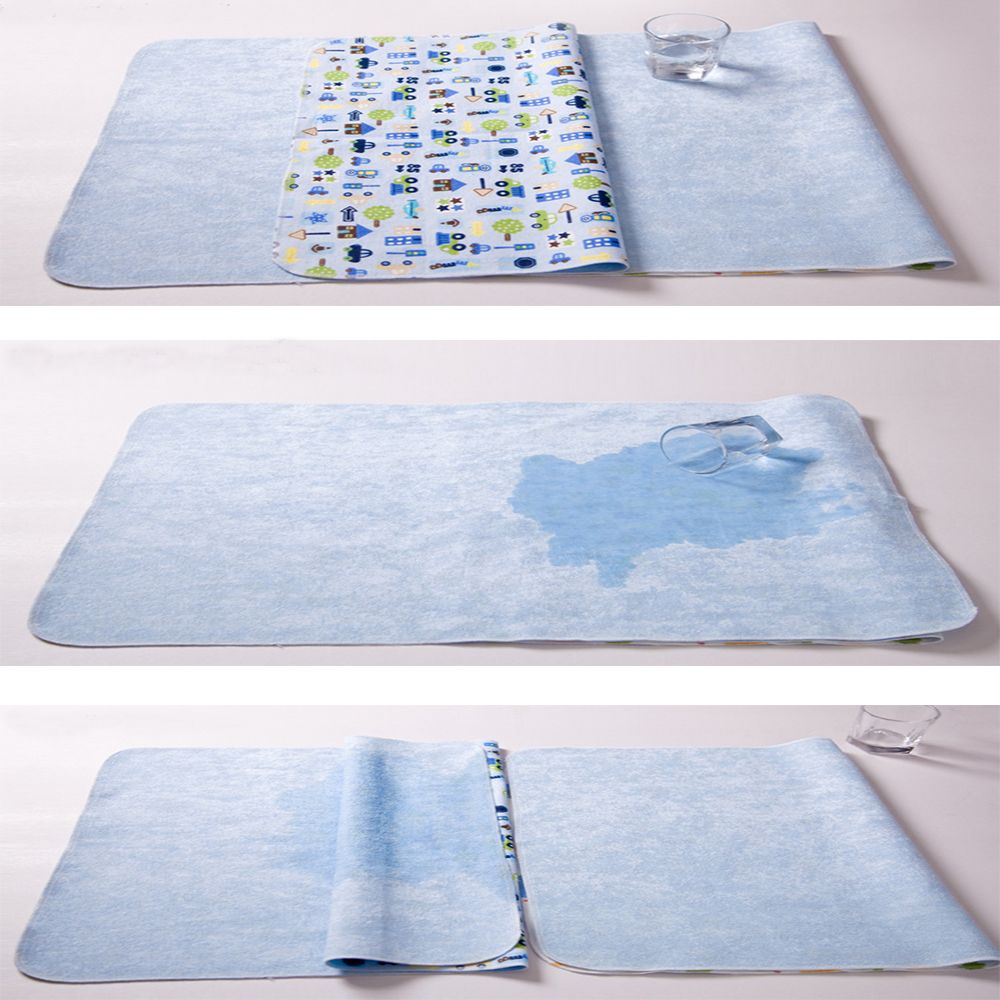 1Pc Baby Infant Waterproof Urine Mat Diaper Nappy Kid Bedding Changing Cover YH