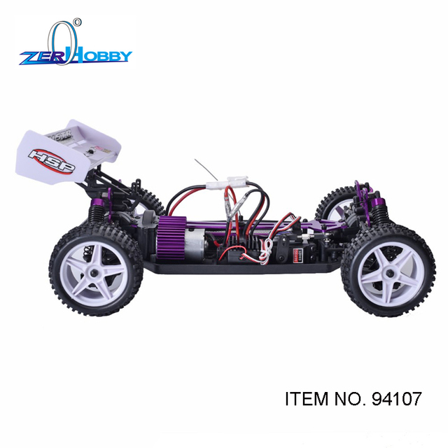 HSP Racing 94107 94107PRO Rc Car Electric Power 4wd 1/10 Scale Off Road Buggy XSTR High Speed Hobby Similar REDCAT Racing