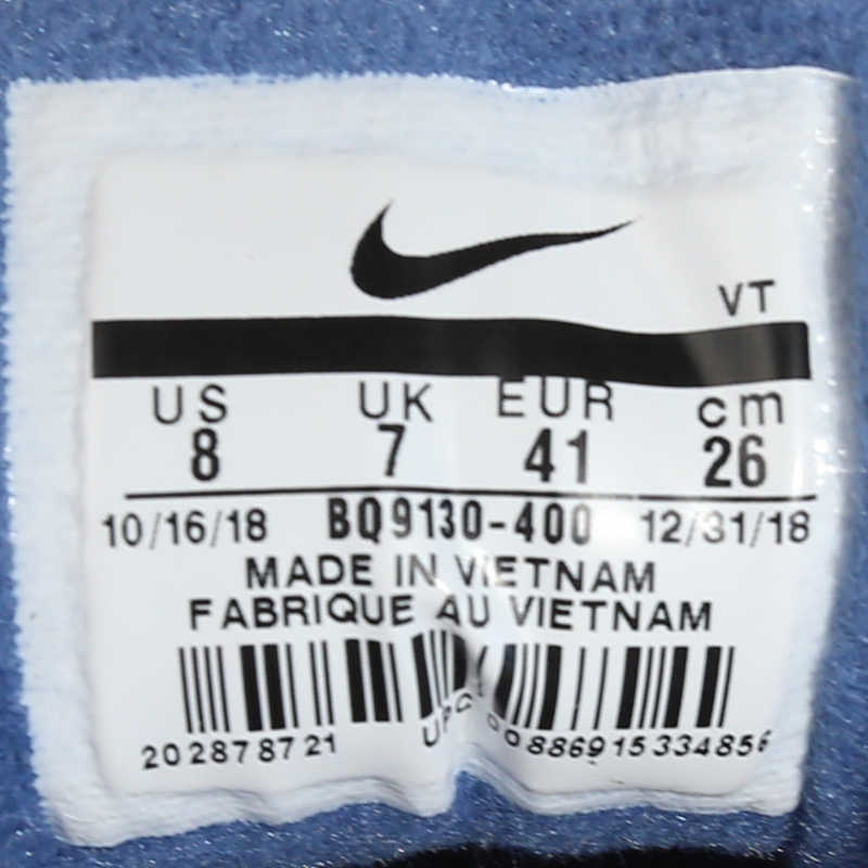 Nike air max 97 nd tênis de corrida homem sorridente rosto azul bala almofada de ar esportes # BQ9130-400